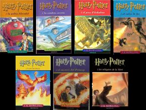 Llista de 10 llibres que més han impressionat els usuaris de Facebook (Harry Potter)