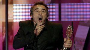 Eduard Fernandez, en el moment del seu error