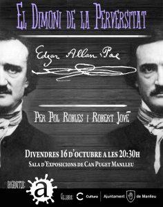 Cartell Allan Poe Escribaj2