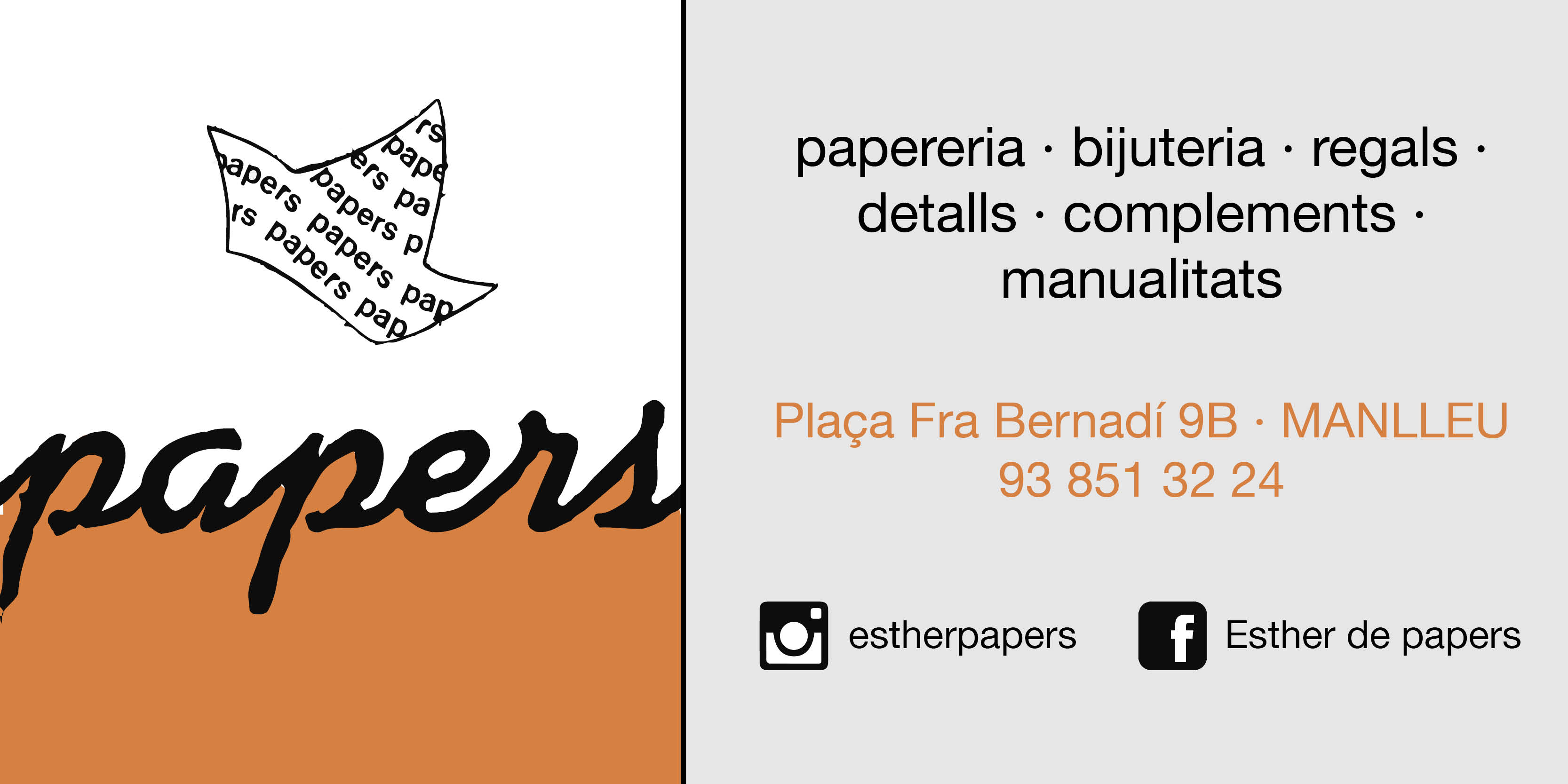 Papers - Papereria i complements